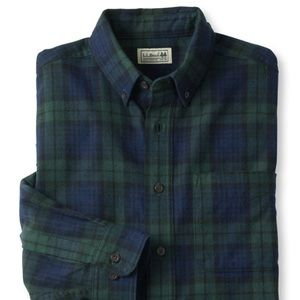 L. L. Bean | Scotch Plaid Flannel Shirt